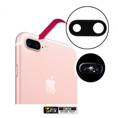 กระจกกล้องหลัง iPhone 7 Plus ฝาครอบกล้องหลัง iPhone 7 Plus กระจกปิดกล้องหลัง ไอโฟน 7+