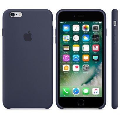เคสซิลิโคน iPhone 6 Plus สีมิดไนท์บลู (Original)