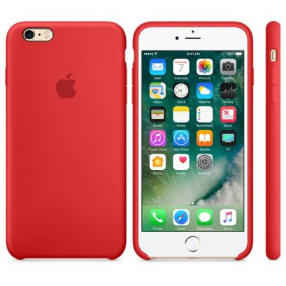 เคสซิลิโคน iPhone 6 Plus (PRODUCT)RED (Original)