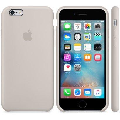 เคสซิลิโคน iPhone 6 Plus สีสโตน (Original)
