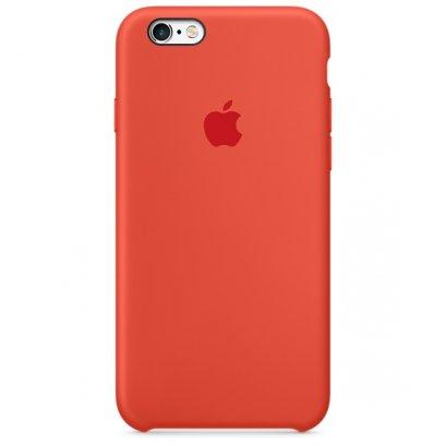 เคสซิลิโคน iPhone 6 / 6S สีส้ม (Original)