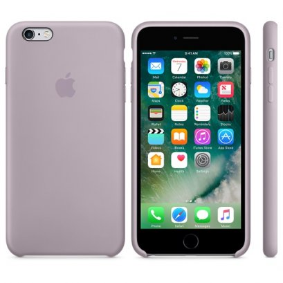 เคสซิลิโคน iPhone 6 Plus สีลาเวนเดอร์ (Original)