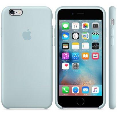 เคสซิลิโคน iPhone 6 Plus สีเทอร์ควอยซ์ (Original)