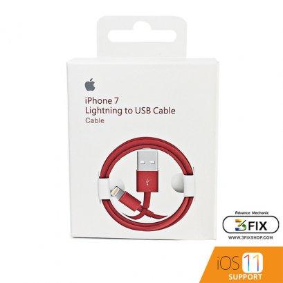สายชาร์จ iPhone Lightning ( Foxconn ) ยาว 1 เมตร รุ่นพิเศษ Red Edition