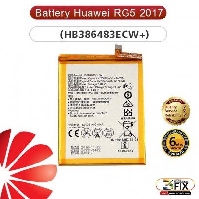 แบตเตอรี่มือถือ Huawei RG5 2017 (HB386483ECW+)