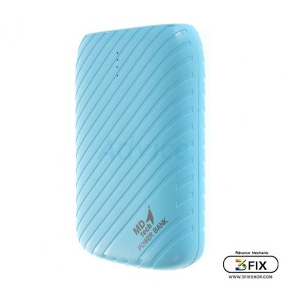 POWER BANK 8400 mAh 'MD-TECH' MD-K02 (สีฟ้า)
