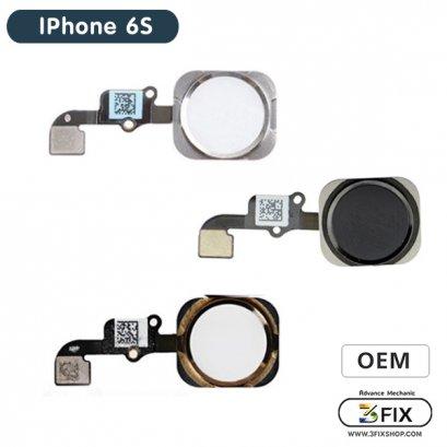 ชุดแพรปุ่ม Home ( OEM ) iPhone 6S