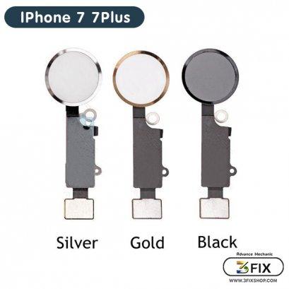 ชุดแพรปุ่ม Home ( OEM ) iPhone 7 / 7Plus