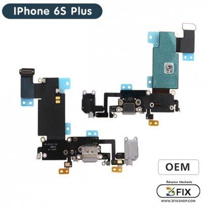 ชุดแพร ก้นชาร์จ  ( OEM ) iPhone 6S Plus