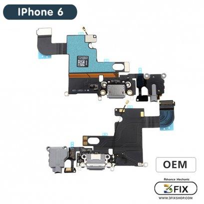 ชุดแพร ก้นชาร์จ ( OEM ) iPhone 6