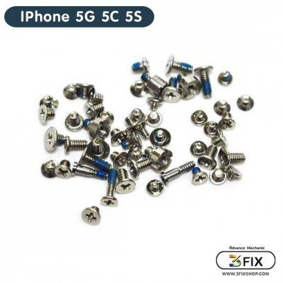 น็อตชุด iPhone 5G 5C 5S