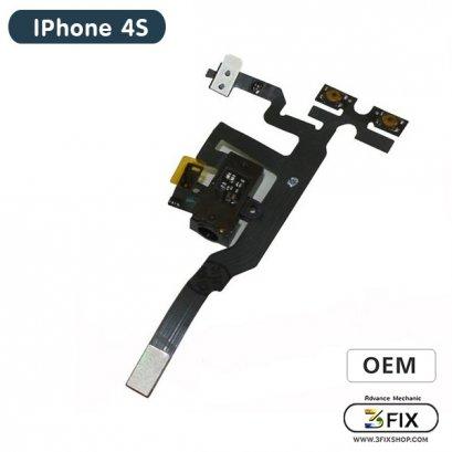 สายแพร ชุด SmallTalk + Volume( OEM ) iPhone 4S