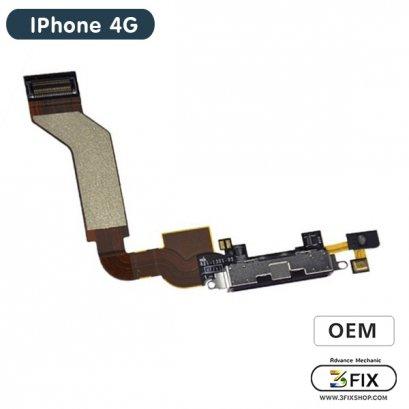 ชุดแพร ก้นชาร์จ ( OEM ) iPhone 4G