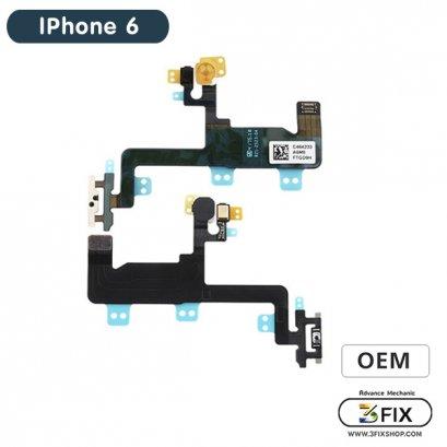 แพรชุดสวิทย์ออน ( OEM )  iPhone 6