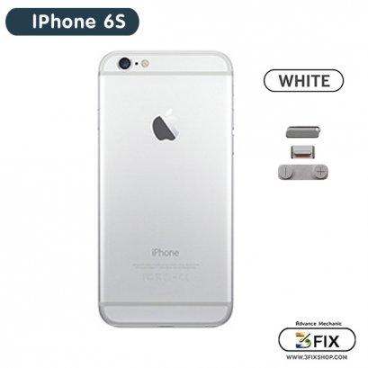 โครงหลัง iPhone 6S ( White Silver )