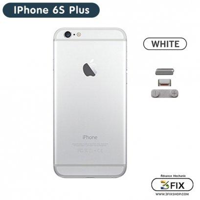 โครงหลัง iPhone 6S Plus ( White Silver )