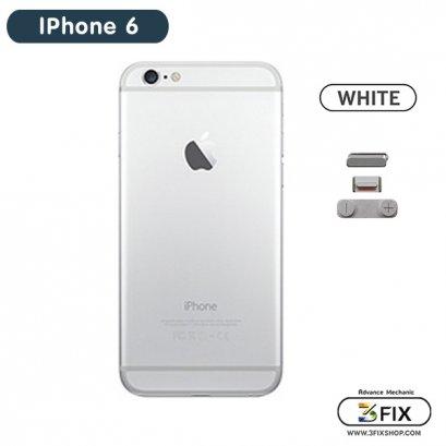 โครงหลัง iPhone 6 ( White Silver )