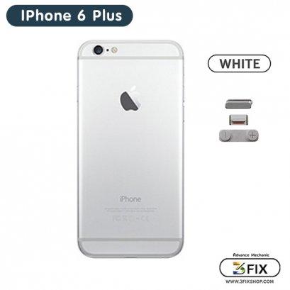 โครงหลัง iPhone 6 Plus ( White Silver )