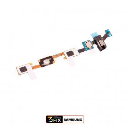 แพรปุ่มโฮม+ช่องเสียบหูฟัง Samsung Galaxy J7 J700 2015