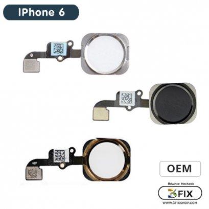 ชุดแพรปุ่ม Home ( OEM ) iPhone 6