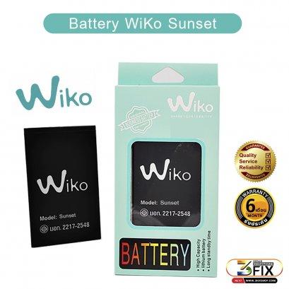 แบตเตอรี่มือถือ WiKo Sunset