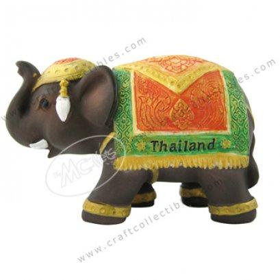 Thai Fabric (red-green)