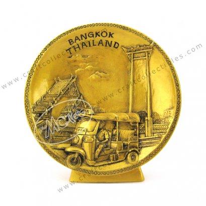 Bangkok Show Plate - GOLD