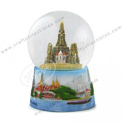 Chaopraya Snowball + Wat Arun