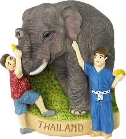 ช้างกินกล้วย