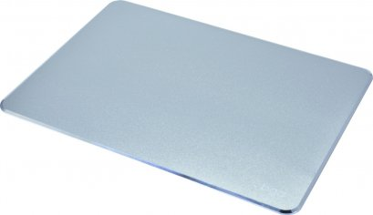 Mouse pad สีเงิน