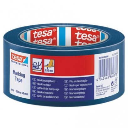 "TESA 60760  Floor Marking Tape (Blue  Size 2"" X 33M)"