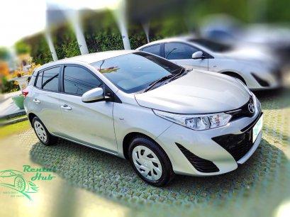 Toyota Yaris(Hatch Back) - Silver