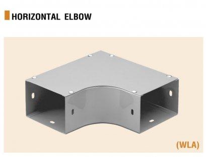 ข้อต่อโค้ง 90 แนวนอน  Elbow Wire way Horizontal