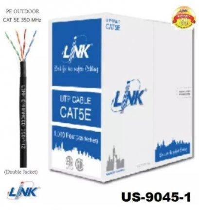 สายแลน Link รุ่น US-9045-1 สาย CAT5 100เมตร ยี่ห้อ LINK