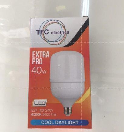 หลอดไฮเพาเวอร์ LED TFC 40W เดย์ไลท์