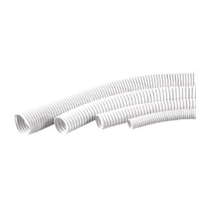 ท่ออ่อนพลาสติกร้อยสายไฟสีขาว (ท่อลูกฟูก) PRI, Zeberg, Haco, Clipsal