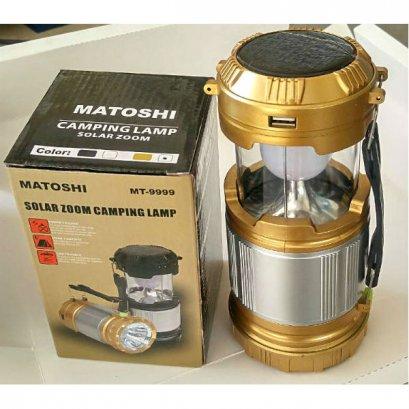 ไฟฉาย LED / ไฟฉายพลังแสงอาทิตย์ / ไฟฉายส่องแบงค์ MATOSHI