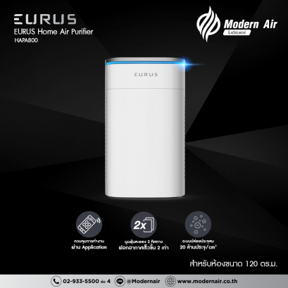 EURUS Home Air Purifier (HAPA800)
