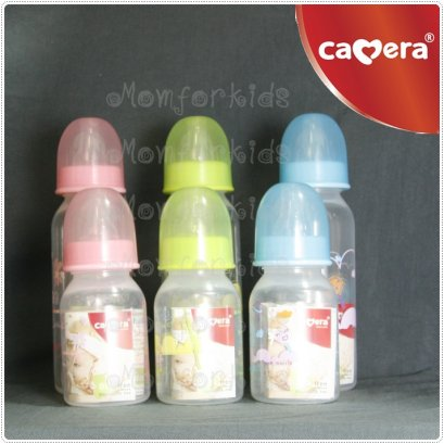 Camera Baby Milk Bottle BPA Free 4 oz