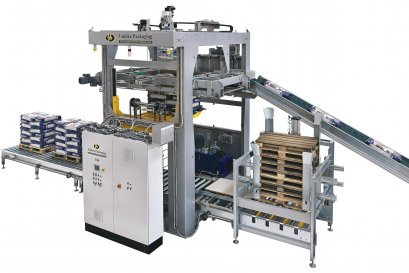 HIGH SPEED PALLETIZER MACHINE