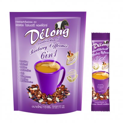 Delong Riceberry Coffeemix 6in1