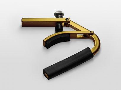 Shubb Lite Capo for Steel String Guitar - L1 Gold