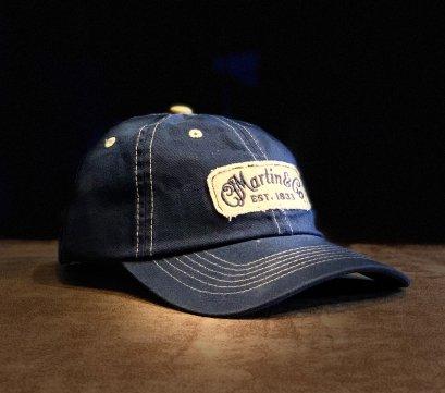 Martin Baseball Cap Navy with Stitched Logo