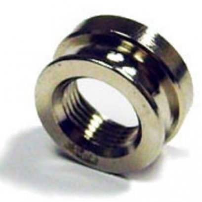 Chrome Strapnut for a Switchcraft endpin jack