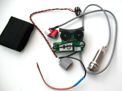 FISHMAN Sonitone Onboard Preamp System for Acoustic Guitars