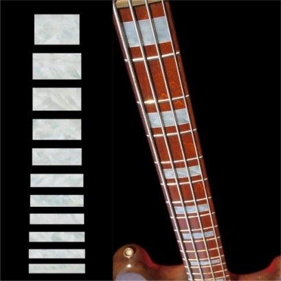 Jazz Bass Block (WP) Inlay Sticker for Bass