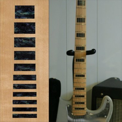 Jazz Bass Block (BP) Inlay Sticker for Bass