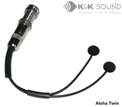 K&K Aloha Twin Dual Sensor Internal Ukulele Pickup