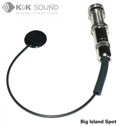K&K Big Island Spot Internal Ukulele Pickup