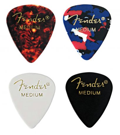 Fender Classic Celluloid 351 Guitar Pick